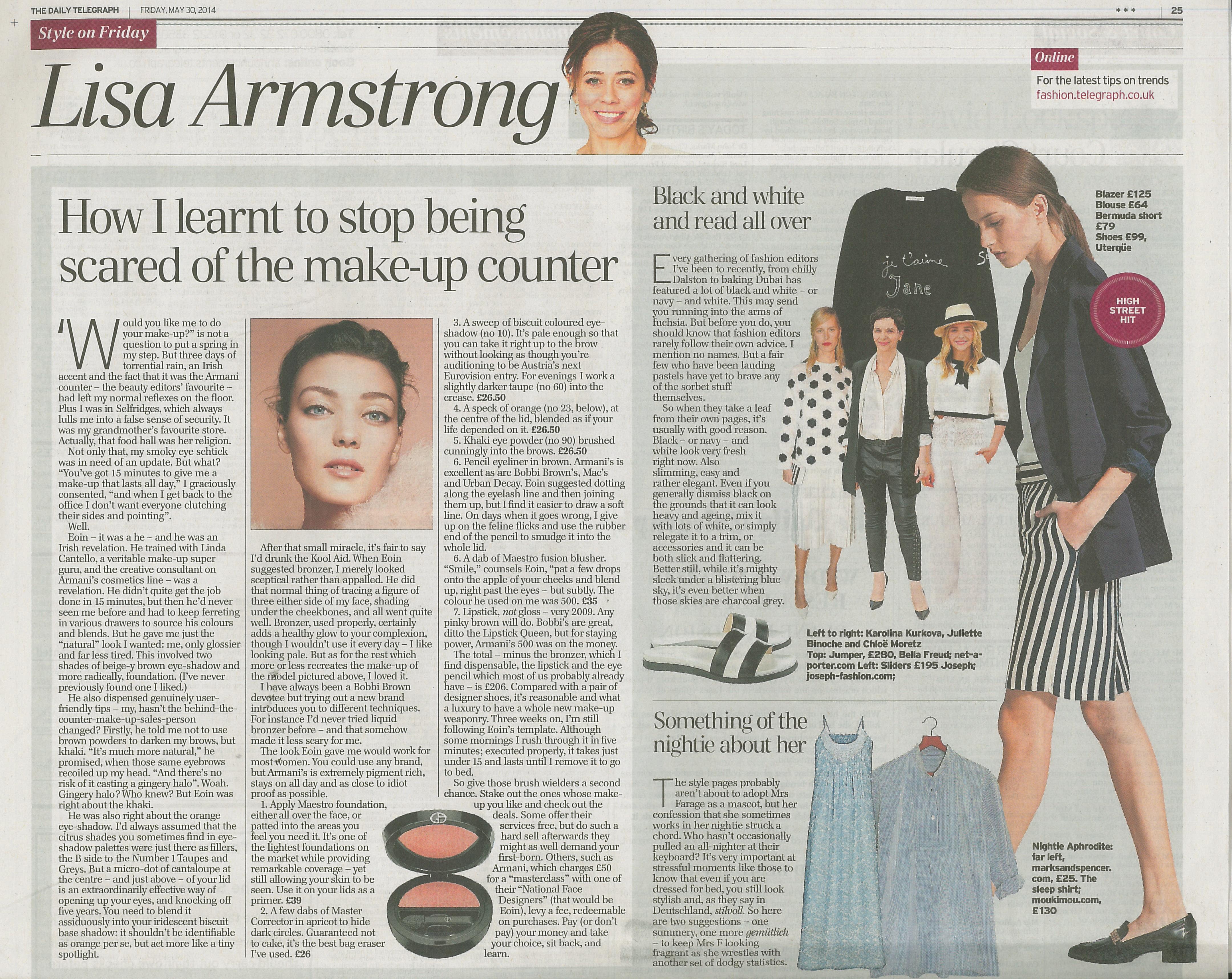 The daily telegraph fashion