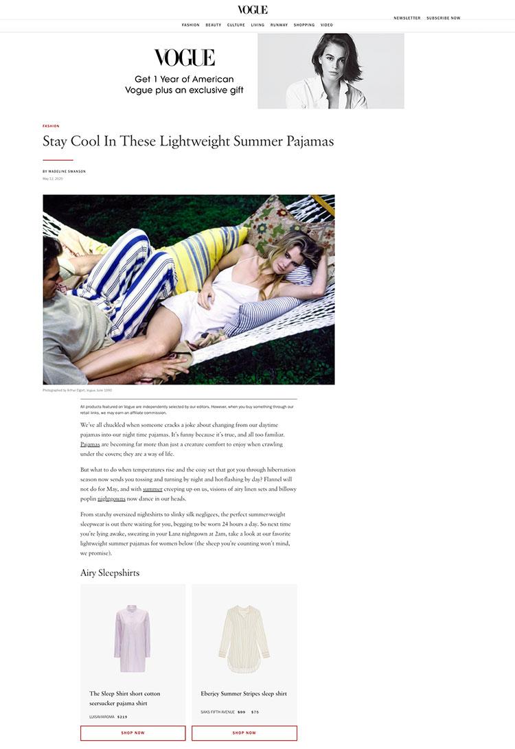 Vogue_SummerSleepwear
